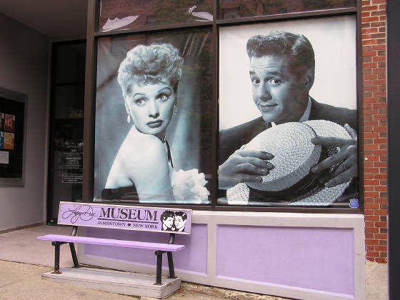 Lucy - Desi Museum in Jamestown, NY