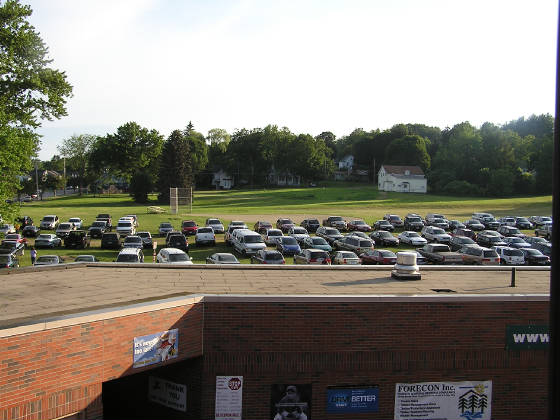 Parking at Diethrick Field - Jamestown, NY